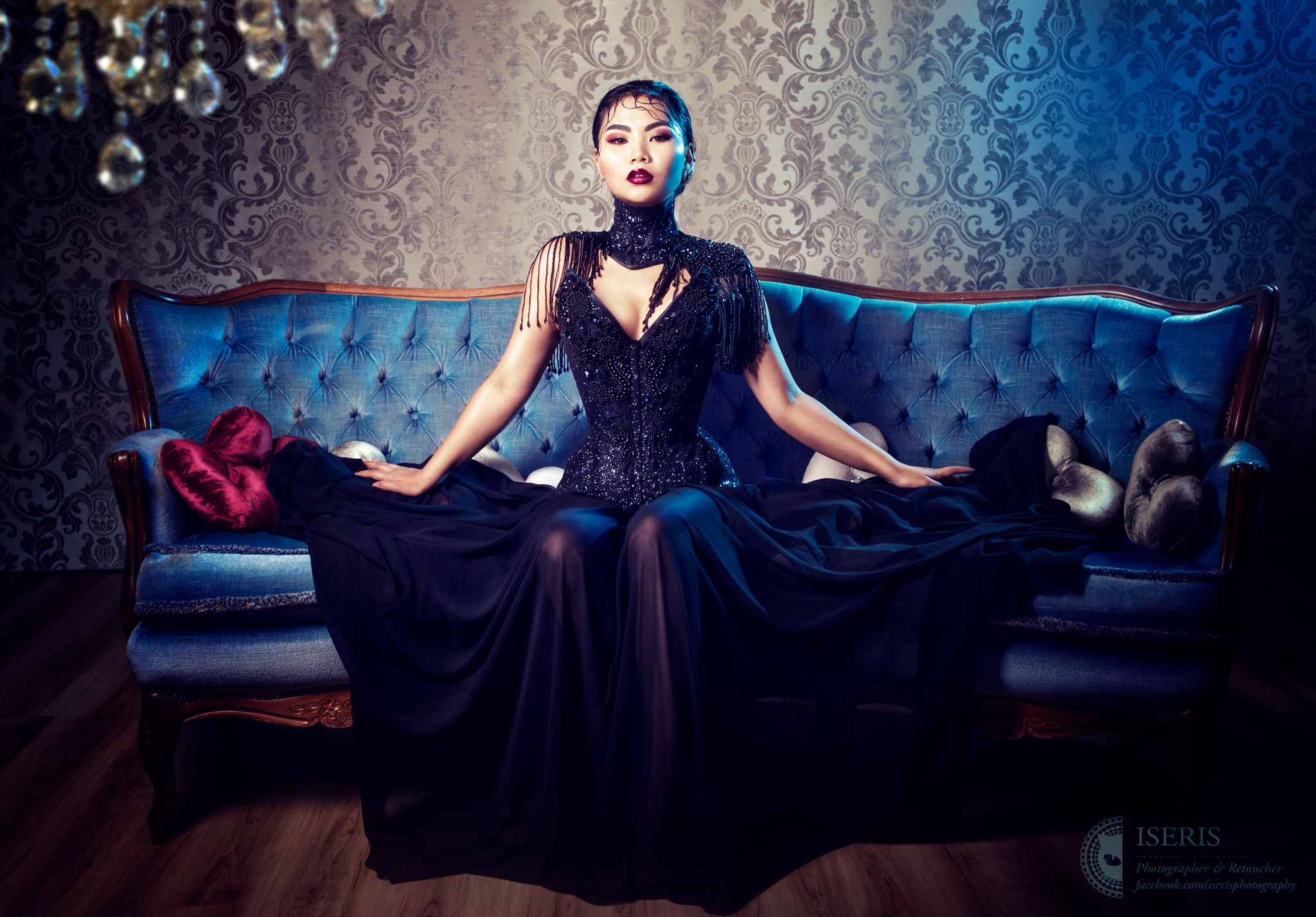 Fantasy Gothic Cosplay Bodoir Beauty Portrait Fotoshooting