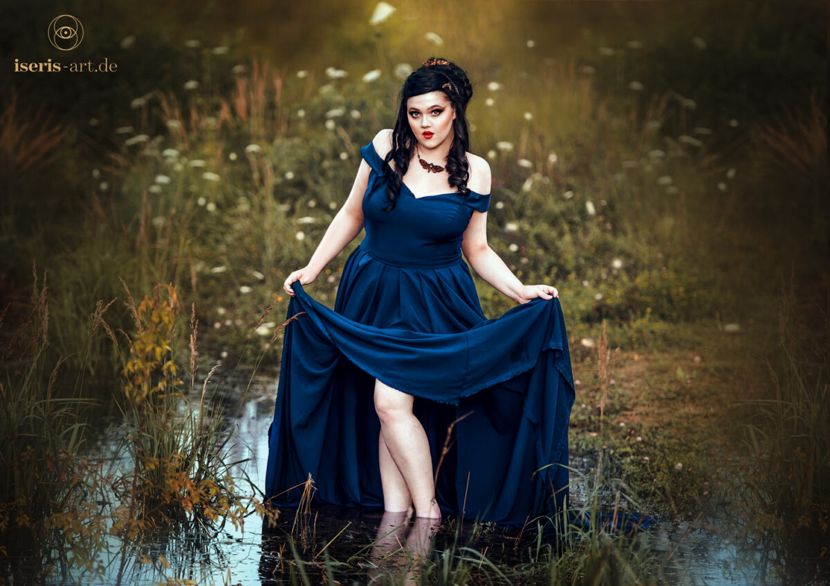 Lady on the lake - Plus Size Fantasy Fotografie